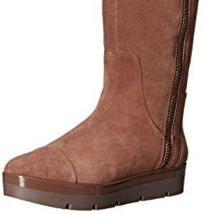 Nine West Gladys Suede Knee-High Boot